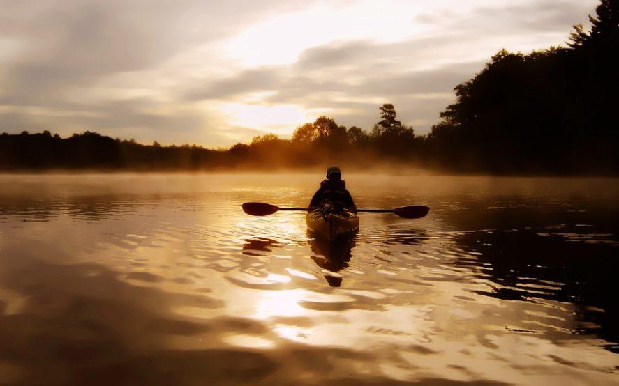 Kayak Fluss